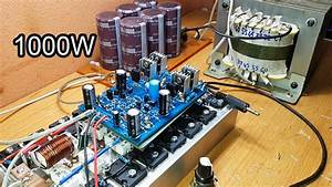 Amazing 1000w Amplifier Circuit  Gerber File