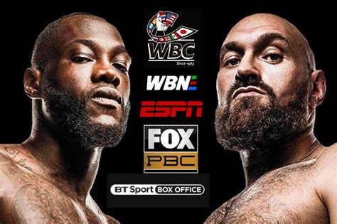 Deontay Wilder vs Tyson Fury II televised on BT Sport Box ...