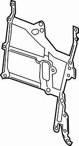 2013 Buick Encore Engine Timing Cover Gasket  Front   1 4