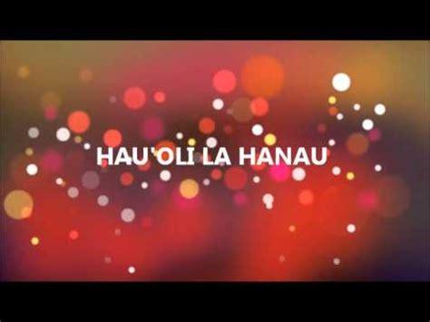 hauoli la hanau youtube