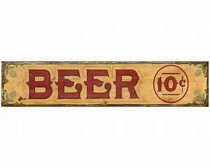 Plaque Vintage Metal : custom beer vintage style metal sign personalized antique aluminum sign ~ Teatrodelosmanantiales.com Idées de Décoration