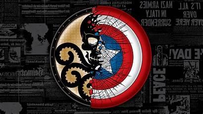 Hydra Captain America Soldier Avengers Comics Winter