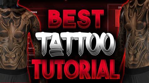 nba  tipstricks full arm sleeve tattoo tutorial