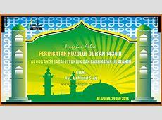 Desain Spanduk Nuzulul Quran UNDANGANME