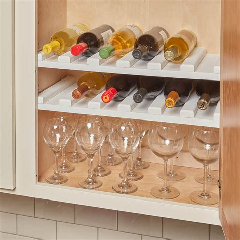 how to build a wine cabinet easy to make wine rack the family handyman