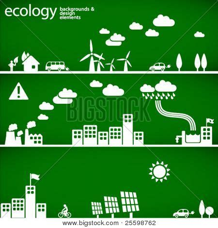 Sustainable Development Concept Ecology Backgrounds