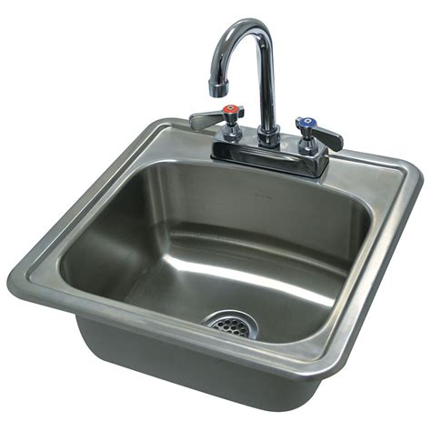Advance Tabco Sink Accessories by Advance Tabco Di 1 1515 1 Compartment Drop In Sink 12