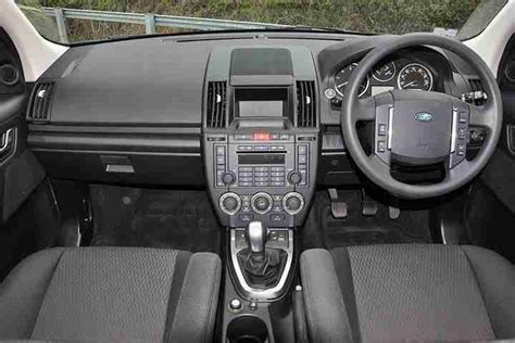 land rover freelander interior 2012 land rover freelander 2 2 td4 gs 5dr diesel black