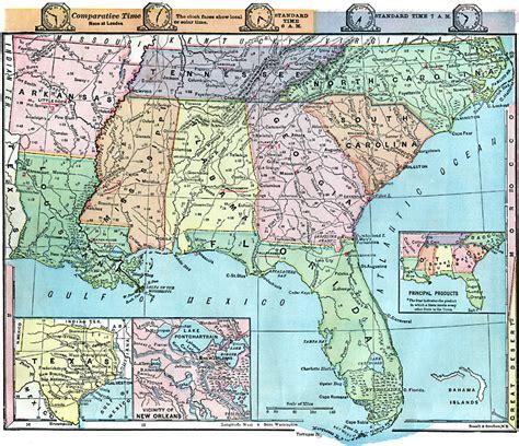 southern  southwestern states