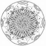 Coloring Mustard Colouring Adults Maria Mandala Wednesday Adult Min sketch template