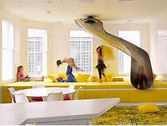 Colorful Playroom Design Interior Design Architecture And Furniture Playful Yellow Room And Patterns To Match Your Decor Needs From Pottery Barn Kids Attic Ceilings Advantages And Design Ideas Stylish And Cozy Attic