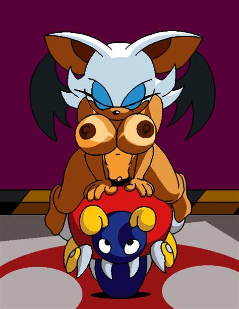 Dboy Motobug Rouge The Bat Sonic Team Animated