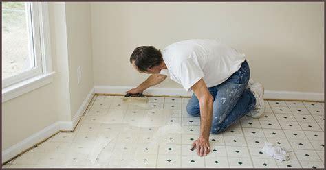 Is Asbestos Hiding in Your Vinyl Flooring?   Mold