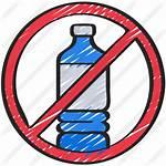 Plastic Bottles Icon Premium Plastics Use Icons