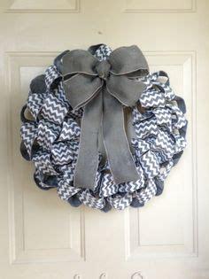 john deere mesh burlap ribbon wreath  chevron