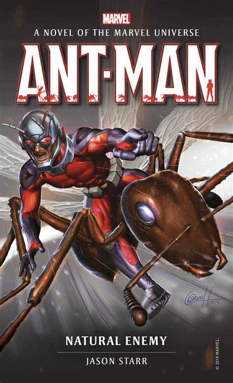 Marvel novels - Ant-Man: Natural Enemy @ Titan Books
