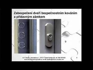 Přídavný zámek na plastové dveře