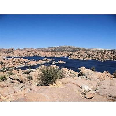 Watson Lake Park Reservoir & Granite Dells. Prescott