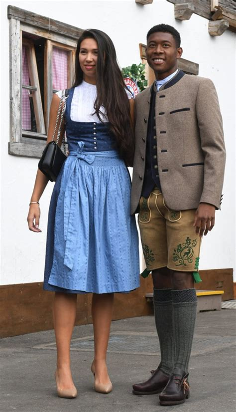 oktoberfest  david alaba   girlfriend shalimar