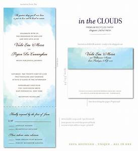 beach wedding invitations on 100 recycled paper in the With all in one beach wedding invitations