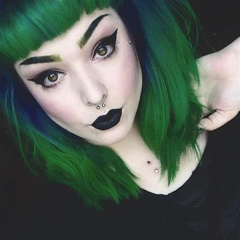 1000 Ideas About Goth Hairstyles On Pinterest Punk