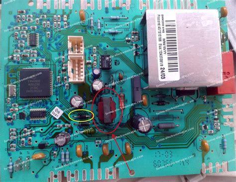 lave linge sans electronique forum 201 lectrom 233 nager bricovid 233 o caract 233 ristique transformateur carte 233 lectronique arthur