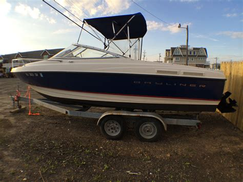 Used Cuddy Cabin Boats For Sale Nj by Bayliner 210 Cuddy Cabin No Reserve Boat For Sale From Usa
