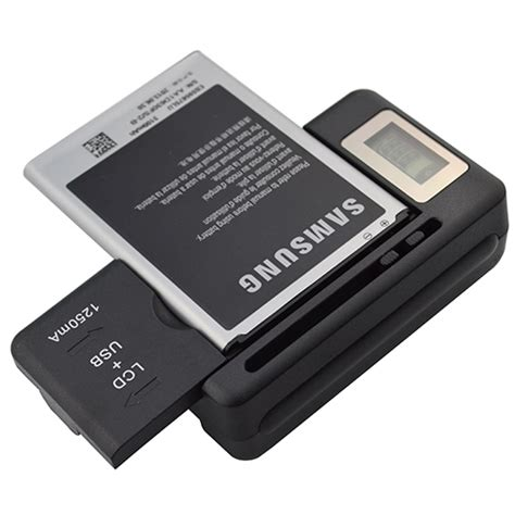 Universal Mobile Phone Battery Charger Digital Camera Pda
