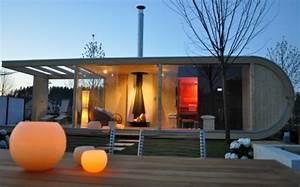 Gartenhaus Sauna Kombination : design gartenhaus mit sauna lifestyle und design ~ Whattoseeinmadrid.com Haus und Dekorationen