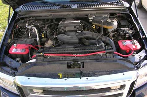 ford superduty   battery plowsite