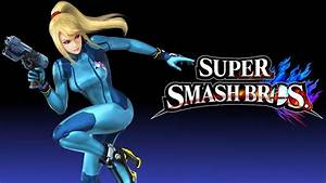 Super Smash Bros. 4 Wallpaper - Zero Suit Samus by ...