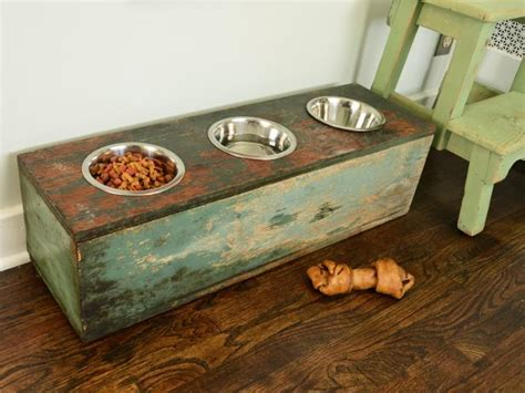 pet feeder station how to make a pet feeding station hgtv