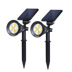 best solar landscape lighting and spot lights ledwatcher