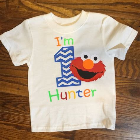 2nd Birthday Elmo Shirt