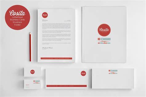 Design Brand by Cosita Corporate Identity Stationery Templates