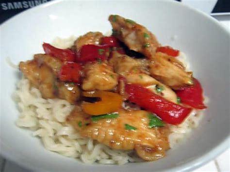 que cuisiner avec des poivrons recette de poulet aux poivrons recette asiatique par nadine