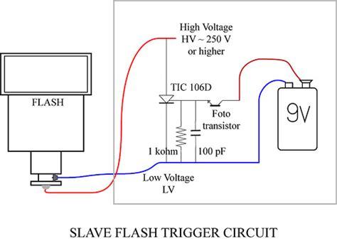 Slave Flash Trigger Circuit Schematic Under Repository