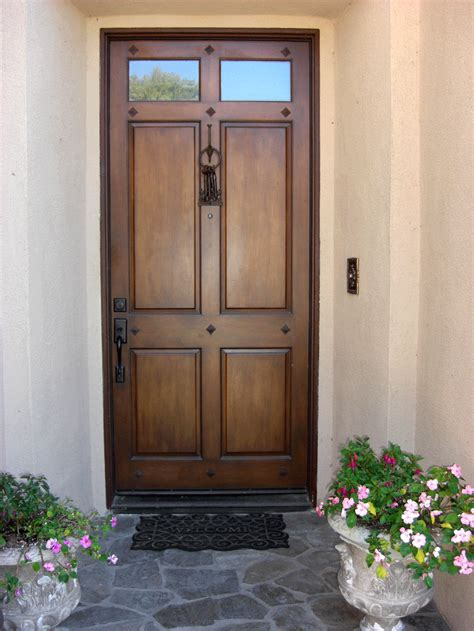 colours  enhance  front entry doors interior
