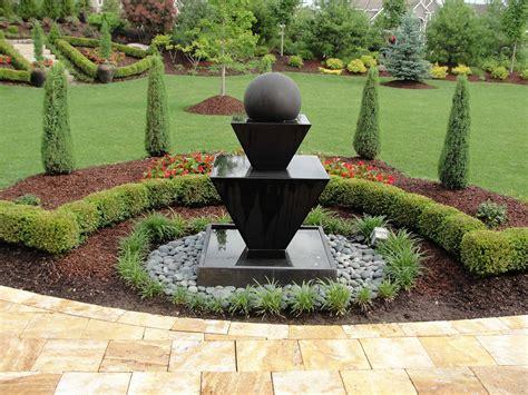 backyard bowl custom garden fountains statuary in kansas city at