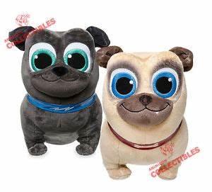 Disney Store BINGO & ROLLY PLUSH Puppy Dog Pals Small 12.5 ...