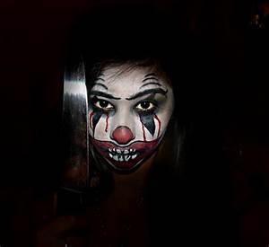 Halloween killer clown Makeup | Halloween | Pinterest