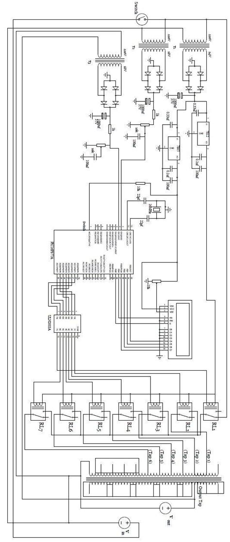 Circuit Diagram The Kva Microcontroller Based