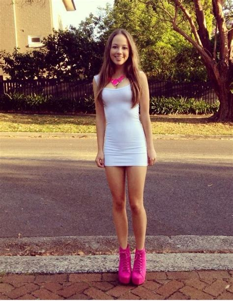 Cute White With Pink Cutee Clothes