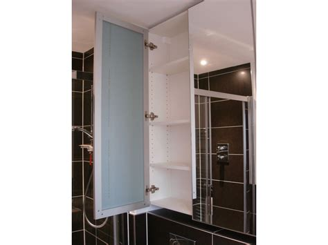 Bathroom Storage With Mirror With Amazing Photo