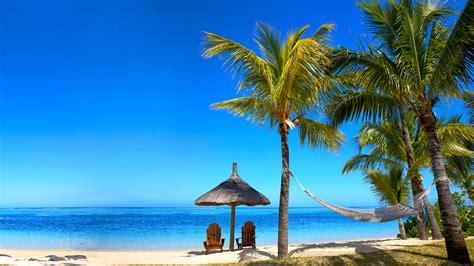 Bilder Von Strand Meer Natur Palmen Himmel Tropen Sonnenliege