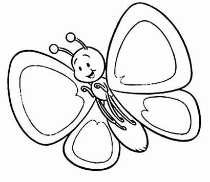 Imprimir Pintar Mariposas Colorear Dibujos