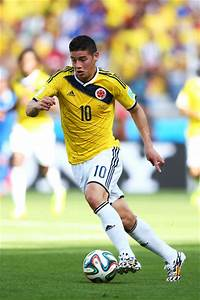 James Rodriguez in Colombia v Greece: Group C - 2014 FIFA ...