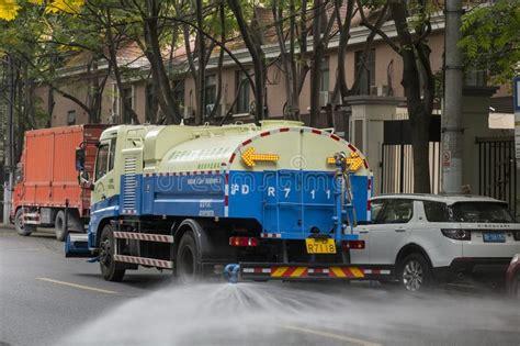 Streets Of Pudong Shanghai China Editorial Stock Image ...