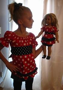 18 best Matching Doll Outfit images on Pinterest | Doll dresses American girl dolls and ...