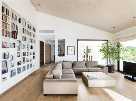 Minimalist Family Home by Concrete Home Combines Earth Tones With Minimalist Aesthetic